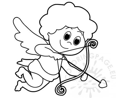 cupid outline