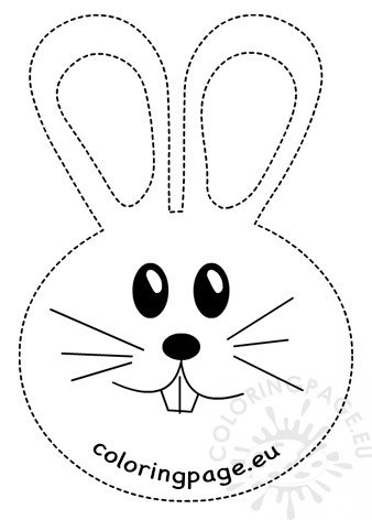 Rabbit Tracing Worksheet