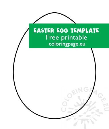 picture regarding Egg Template Printable referred to as Easter egg template printable Coloring Site