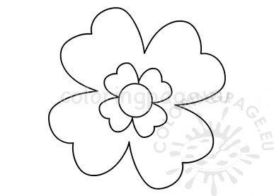 Pdf Spring Flower Template