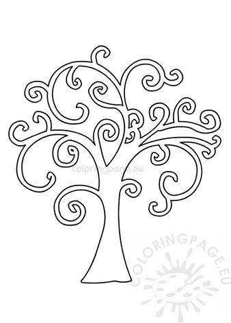 photograph about Tree of Life Printable named Tree of Lifestyle template printable Coloring Website page