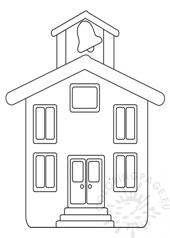 photo regarding House Template Printable identified as Higher education household template printable Coloring Site