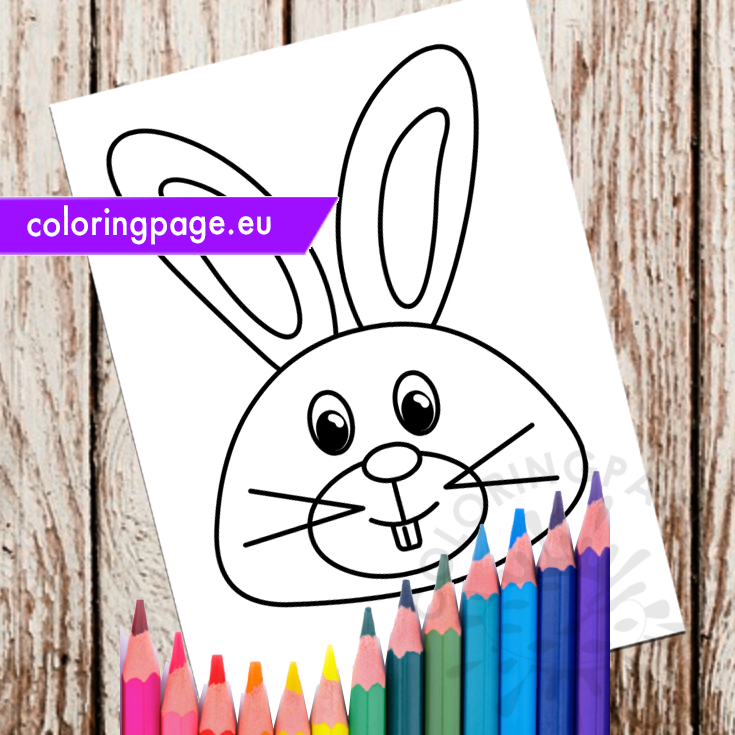 Easter Bunny coloring page Royalty Free Stock Image | YAYIMAGES ... | 735x735