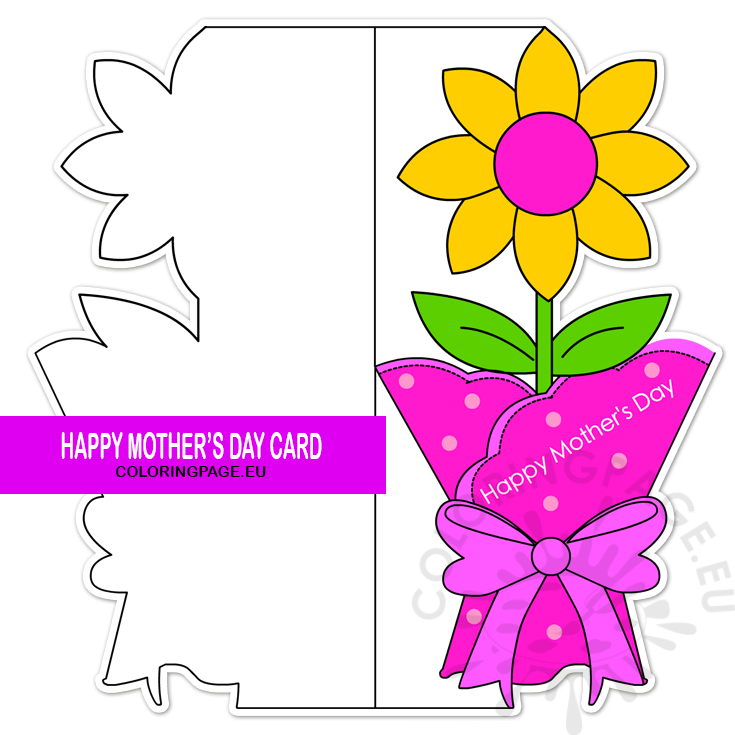 FREE PRINTABLE MOTHER'S DAY BANNERS - Tell Love and Party |Printable Mothers Day Flowers
