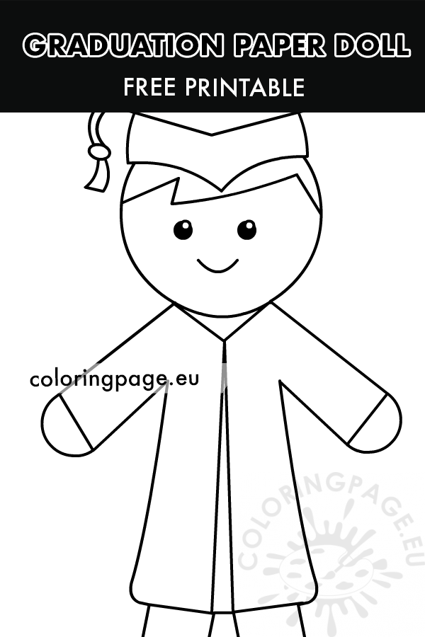 Graduation Boy template