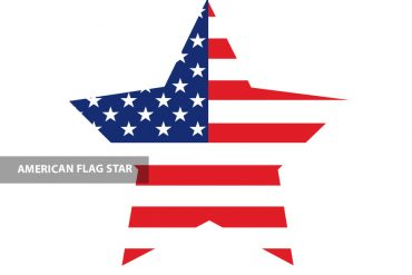 free printable american flag star  coloring page